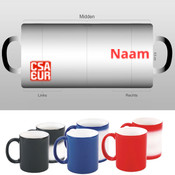 CSA Magic Wow Mug with name